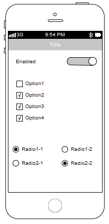 iphone 5s sparx enterprise architect wireframing pattern
