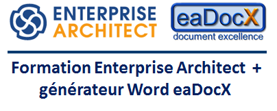 module generation documentaire word avec eadocx disponible dans la formation enterprise architect viseo