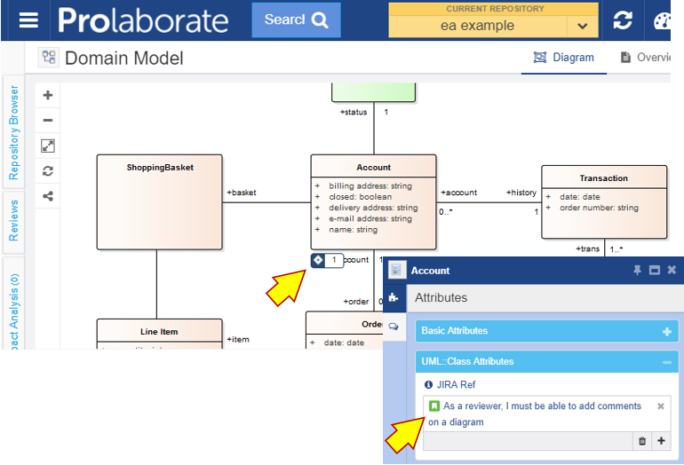 prolaborate jira integration sparx enterprise architectweb interface link